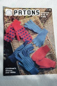 Knitting pattern (children's gloves and mitts)