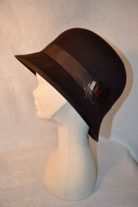 Dark Brown Cloche