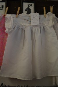 Baby girl's dress (white)