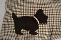 "Cushions scottie dog  12"" x 16"""