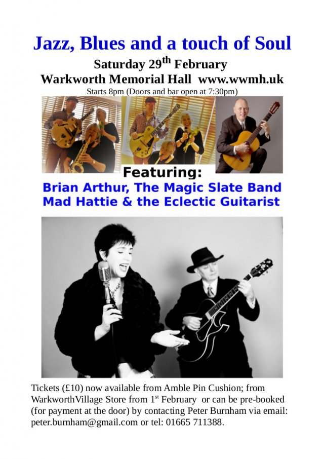 Warkworth Jazz and Blues Night