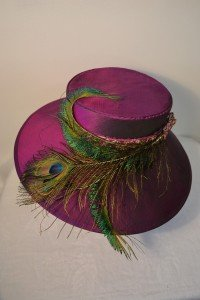Purple Silk Hat