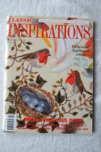 Classic inspirations embroidery book issue 25